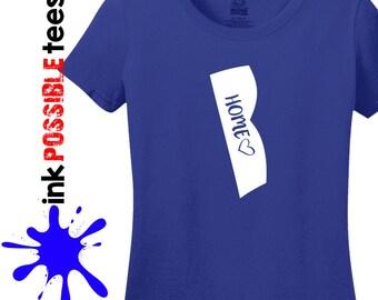 Rhode Island Home Shirt Rhode Island Gift T-Shirt Roots Native