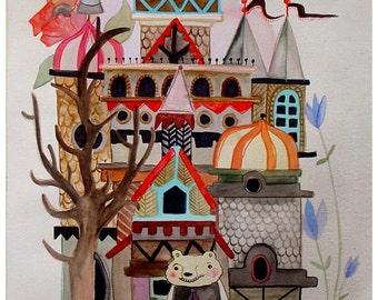 the Bear's House - print