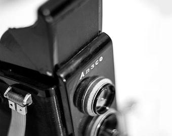 Shabby Chic, Vintage Ansco Camera, Still Life, Fine Art, Antique Camera, Collectors, Love, Camera Love, Magaly Burton