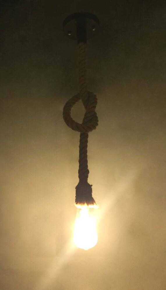 Hanf Seil Beleuchtung-Seil Lampe leuchten-ländlichen