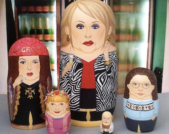 Absolutely Fabulous Matryoshka Dolls (Version 2)