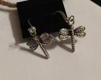 Silver Dragonflies