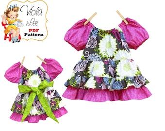 Toddler Sewing Pattern pdf. Girls Clothing Pattern. Toddler Summer Top Patterns pdf. Girls Top Pattern. Instant Download. Tutorial, Sidney
