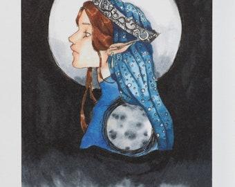 Moon Queen Print