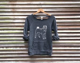 Roly Poly Shar Pei Shirt, Dog Sweater, Dog Gift, Cozy Sweatshirt, S,M,L,XL