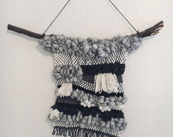 Kaylee ~ Grey Woven Wall Hanging