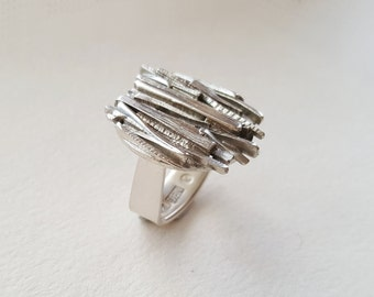 OOAK Sterling Silver Ring (MD121)