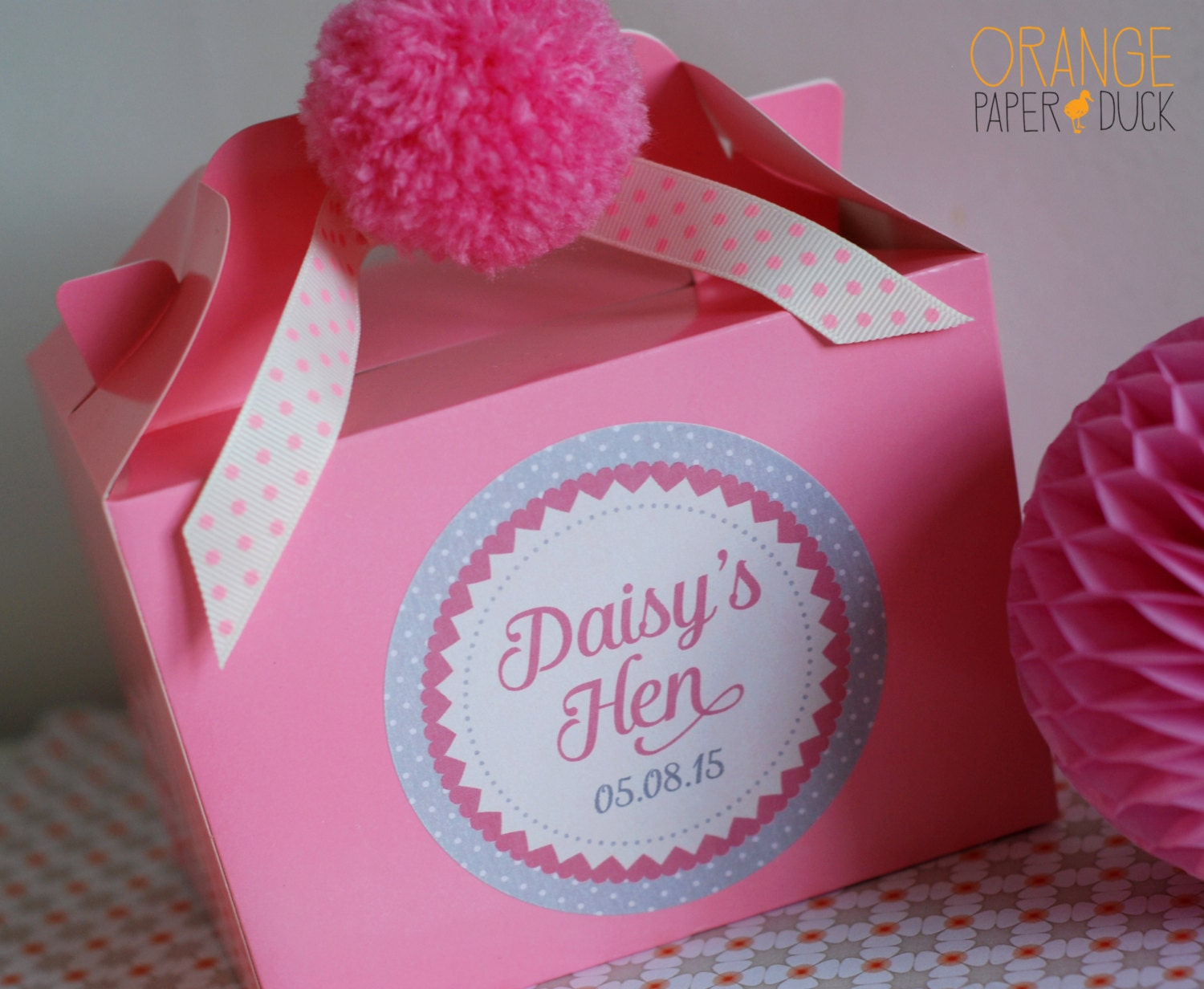 Personalised Wedding HEN PARTY Favour Box Activity Handmade