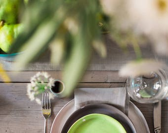 Made-to-Order Earthenware Snack Plate