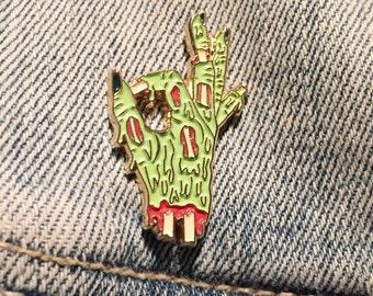 Zombie A-OK Soft Enamel Pin