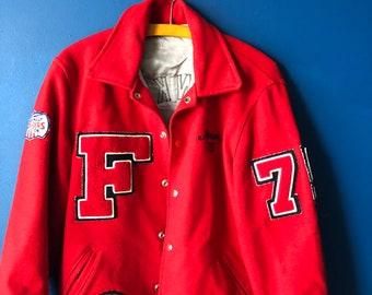 Medium varsity cheerleading jacket