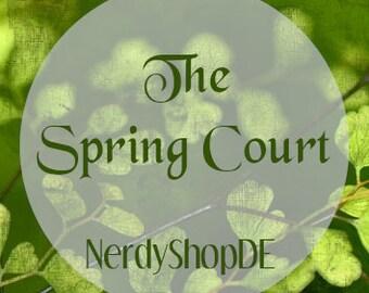 Das Reich der sieben Höfe / The Spring Court inspirierter Lippenbalsam