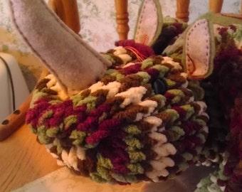 Rhino - plush, OOAK, handmade