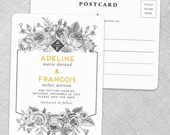 Harlow - Postcard - Save-the-Date