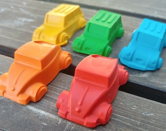 Car Crayons set of 100 - Car Party Favors - Cars Party - Kids Party Favors - Cars Gift - Kids Gift - Birthday Party Favors - Gifts For Kids