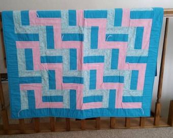 Mennonite crib quilt