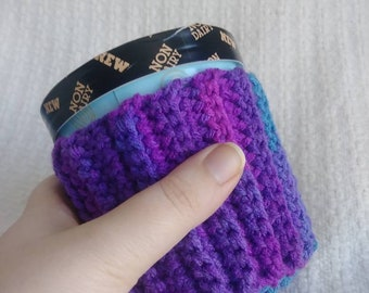 Washable Ice Cream Cozy in Purple Haze