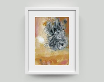 Graphic, painting, drawing-unique art/image abstract