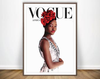 Vogue Africa Print * African Art Black Women Art Black Power Vogue Magazine African Wall Art Vogue Art Fashion Poster Modern Wall Art  sc 1 st  Etsy & African wall art | Etsy