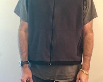 Vintage REI fleece vest // size mens L