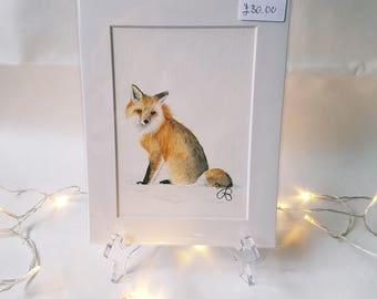 Fox *Original* Painting