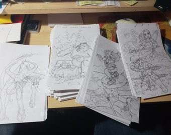 Random doodles and Sketches