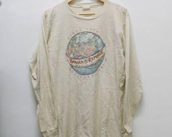 BANANA REPUBLIC Shirt Vintage 80's shirt longsleeve