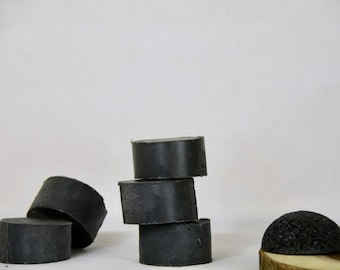 Natural Coal Facial Cleansing Bar. Facial Activated Charcoal Bar