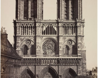 Notre Dame, Cathedral, Giclee Print, French Decor, Art Print, Paris Decor, Paris Prints, Paris Art, Paris France, French Art, French Prints
