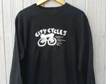 Keith Haring City Cycles Sweatshirt Size M