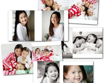 Minimalist 8x8 Session Album - Photoshop Template Download by Photographer Cafe