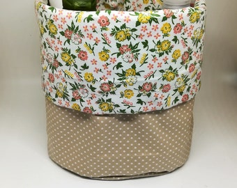 Fabric basket / / Organizer basket