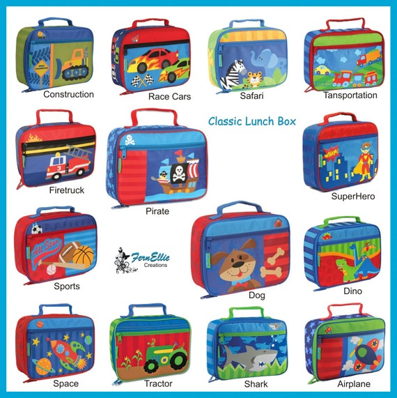 Personalized Classic Lunch Box By Stephen Joseph