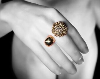 bronze ring maxi