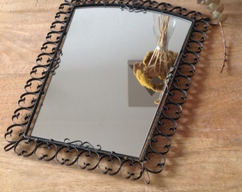 Miroir en fer/ Iron miror