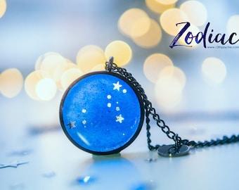 Leo necklace,birthday gift for women, Zodiac Jewelry,Astrology necklace,celestial jewelry Constellation Necklace, Zodiac sign necklace