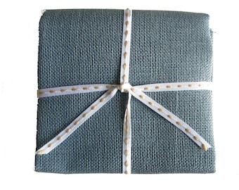 50 x 70 CM linen 12 slate grey thread canvas embroidery cross stitch