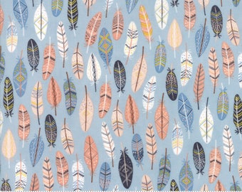 Moda Fabric - Wild and Free Sky 35315 15 by Abi Hall - Quilt, Quilting, Crafts