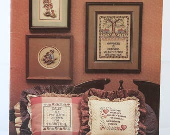 Counted Cross Stitch Pattern | Sampler | For Hearth and Home