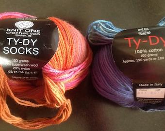 Knit One Crochet Too sock yarn
