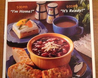 Taste of Homes's quick cooking magazine premier issue