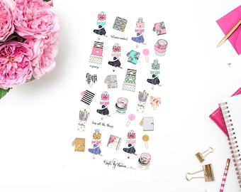 Planners Gonna Plan | Addie Collection | Planner Stickers | Glossy Finish