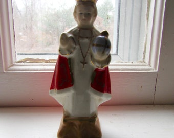 Infant of Prague Mini Shrine Statue