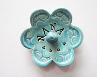 Nana ring dish - Gift for Nana - Keepsake Ring Dish - Ready to Ship,  Gift box included
