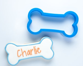 The Charlie Dog Bone Cookie Cutter | Dog Cookie Cutters | Dog Treat Cookie Cutters | Dog Biscuit Cookie Cutters | Custom Cookie Cutters