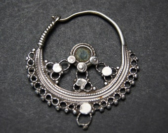 Old Ethnic Pashtun Earring, Pakistan
