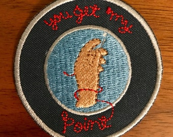 "embroiderer's promise 2.5"" patch"