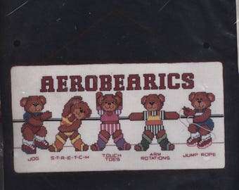 Aerobearics Counted Cross-Stitch Kit