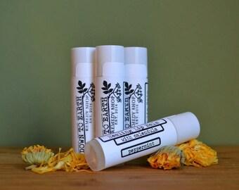 Healing Calendula Lip Balm - Peppermint