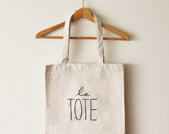 Le Tote Bag (Large)